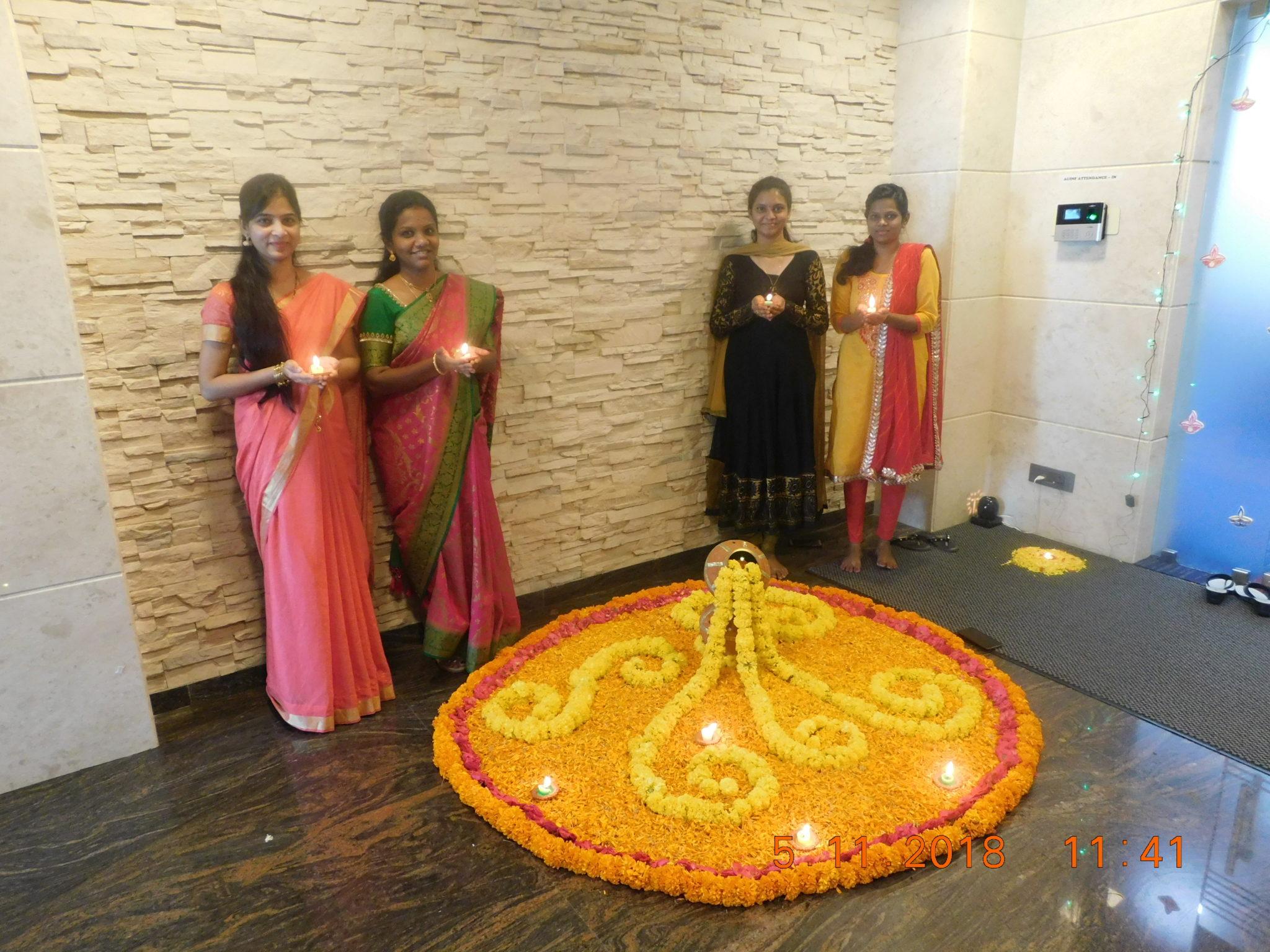 Diwali Celebration at Aurobindo Realty